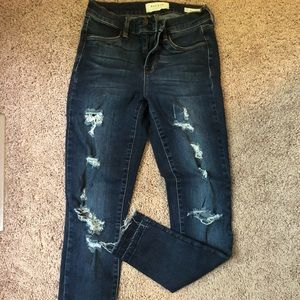 Distressed Jegging from Pacsun